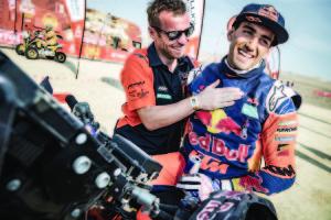 Luciano Benavides KTM 450 RALLY Dakar 2019