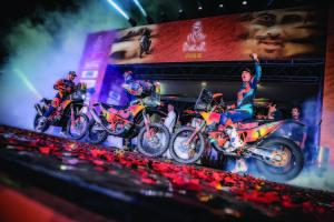 Sunderland Price Walkner KTM 450 RALLY podium Dakar 2019