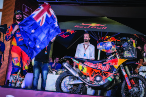 Toby Price KTM 450 RALLY podium Dakar 2019